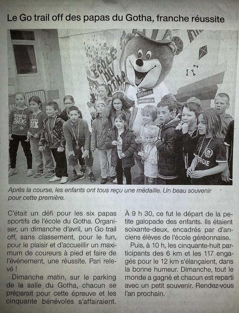 Article Ouest-France After